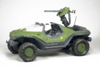 Rare NEW item. HALO REACH SERIES 1  - WARTHOG VEHICLE WITH LIGHT ANTI-AIRCRAFT GUN